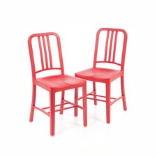 111 Navy Side Chair - Coca-Cola Collaboration