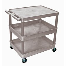 Three Shelf Utility Cart