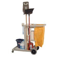 Janitorial Cleaning Service Cart