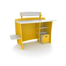 "Kids 43"" Multi-Pack Desk with Shelves and Cart"