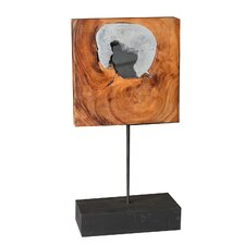 Square Mango Wood Art