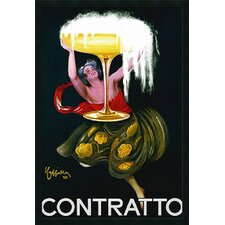 "Contratto (ca.1922) by Leonetto Cappiello, Framed Print Art - 37.66"" x 25.66"""