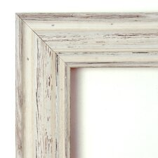 Country Large Mirror in Rustic Whitewash