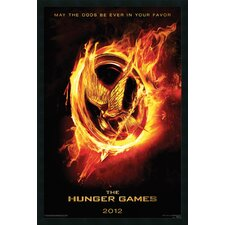 Hunger Games Teaser Framed Print