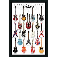 Guitar Heaven Framed Print