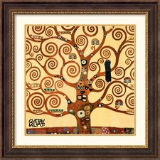 Tree of Life (Detail 1) Framed Print by Gustav Klimt