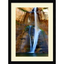 Lower Calf Creek Falls Framed Print by Andy Magee