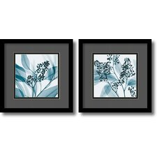 Gray and Black Eucalyptus Framed Print by Steven N. Meyers (Set of 2)