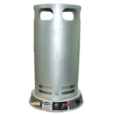 200,000 BTU Convection Tank Top Propane Space Heater with Variable Control