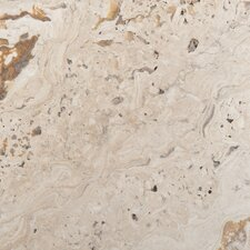 "Natural Stone 8"" x 8"" Chiseled Travertine Field Tile in Scabos"