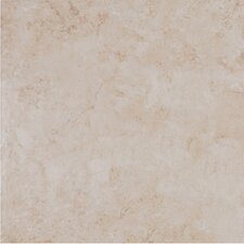 "Belgio 13"" x 13"" Glazed Porcelain Tile in Avorio"