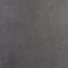 "St Moritz 12"" x 12"" Glazed Porcelain Tile in Gray"