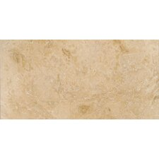 "Trav Pendio 12"" x 24"" Travertine Tile in Beige"