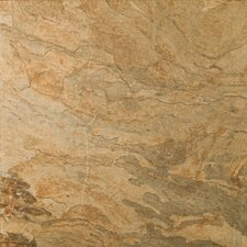 "Landscape 18"" x 18"" Porcelain Floor Tile in Prarie"