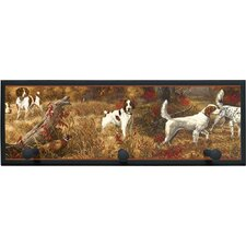 Hunting Spaniels Plaque