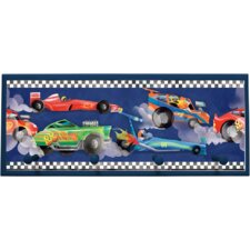 "Extreme Cars Wall Art with Pegs - 10.25"" x 25"""