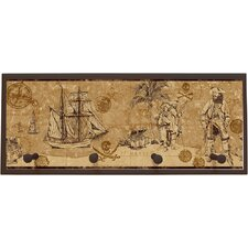 Serious Pirates Wall Plaque