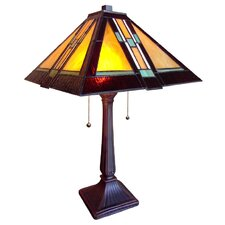 Southwestern Mystique 2 Light Table Lamp