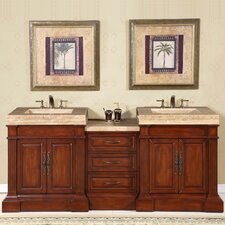 "Stanton 83"" Double Sink Bathroom Vanity Set"