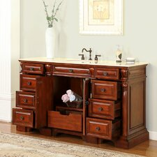 "Cynthia 62"" Single Bathroom Vanity Set"