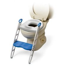 Cushie Step Up Padded Potty Seat with Step Stool
