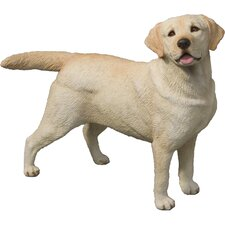 Original Size Labrador Retriever Sculpture in Yellow