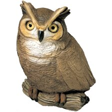 Original Size Owl Sculpture