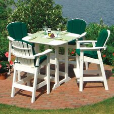 Portsmouth 5 Piece Bar Height Dining Set