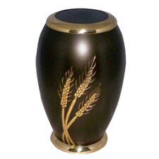 Golden Stalks of Wheat Adult Urn