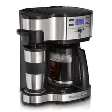 The Scoop Two-Way Brewer Coffee Maker