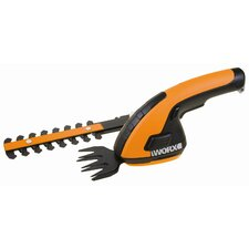 Cordless Shear / Shrubber with Trim Blade and Shrub Blade