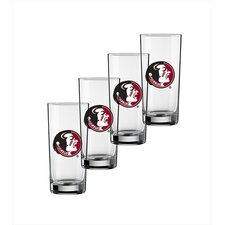 Collegiate Florida State 16 Oz Glass (Set of 4)