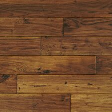 "Handscraped 4-3/4"" Solid Flooring in Mongolian Teak"
