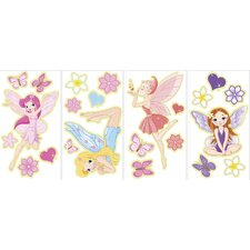 Fairies Glow in the Dark Wall Art Kit