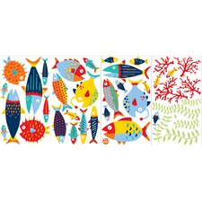 Wall Art Fish Tales Wall Decal Kit