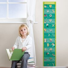 Wall Art Alphabet Growth Chart Wall Decal