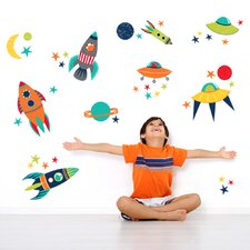 Wall Art Blast Off Wall Decal Kit