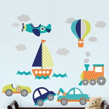 Wall Art On The Go Wall Decal Kit