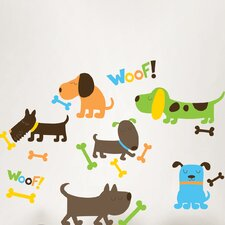 Wall Art Puppy Love Wall Decal Kit