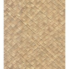 Destinations by the Shore Basket Weave Wallpaper