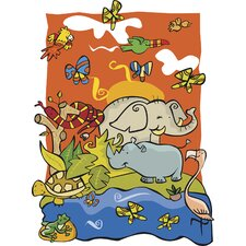 Ultimate Wild Animal Pre Cut Wall Mural