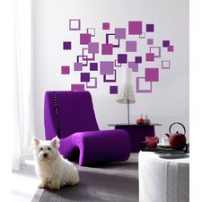 Euro Squares Wall Decals