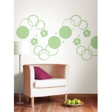 WallPops Dots Blox Stripes Wall Decal Set