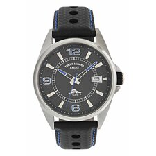 Men's Tiki Bay Relax Watch in Black and Royal Blue