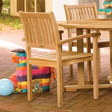 Warwick Stacking Dining Arm Chairs (Set of 2)