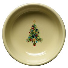 Christmas Tree Cereal Bowl