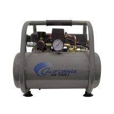 2.5 Gallon Ultra Quiet and Oil-Free 1.0 Hp Steel Tank Air Compressor