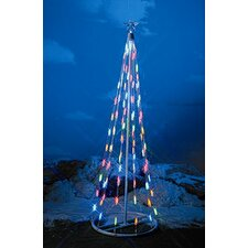 String Light Christmas Cone Tree