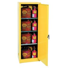 Flammable Liquid Storage - 24 Gallon Safety Storage Cabinet in Yellow