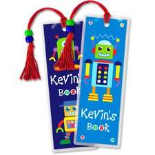 Robots Personalized Bookmark (Set of 2)